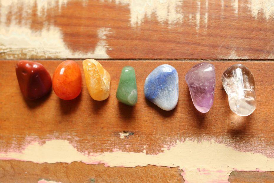 chakras pierres